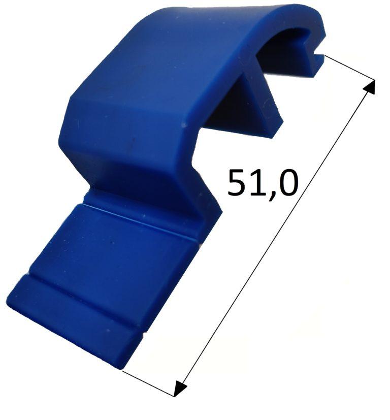 Klocek wypierający Veka 76 AD niebieski