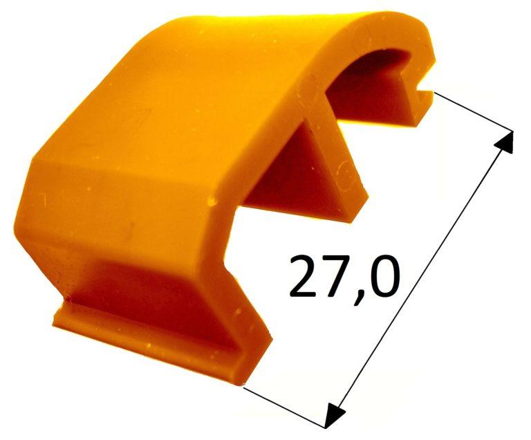 Klocek wypierający Veka 76 AD żółty